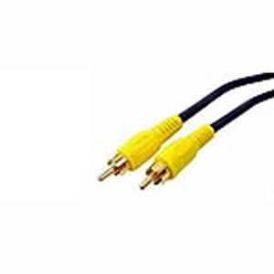 Cable, RCA Video, M/M, 75 Ohm Coaxial