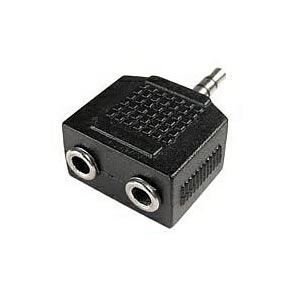 Splitter, 3.5mm Stereo,