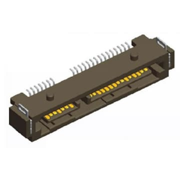 Serial ATA Connector, SATA 22P Plug SMT Type